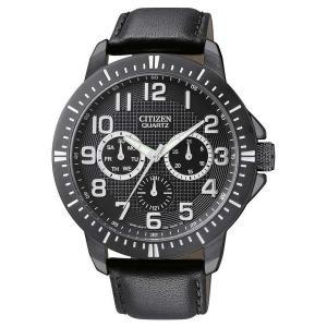 Đồng hồ Citizen Quartz Day-Date Sports Black Dial Men's Watch - AG8315-04E