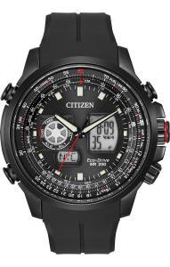 Đồng hồ Citizen Men's JZ1065-13E Promaster Analog-Digital Display Japanese Quartz Black Watch