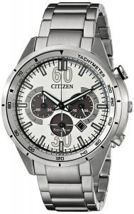 Đồng hồ Citizen Men's CA4121-57A Drive from Citizen HTM Analog Display Japanese Quartz Silver Watch