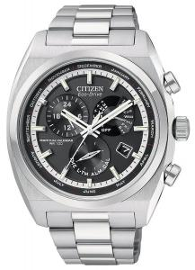 Đồng hồ Citizen Men's BL8120-52E Calibre 8700 Eco-Drive Stainless Steel Calibre 8700 Watch