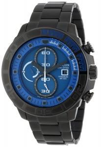 Đồng hồ Citizen Men's CA0525-50L  Eco-Drive Super Titanium Blue Dial Watch