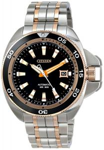 Đồng hồ Citizen Men's NB1036-50E Grand Touring Analog Display Automatic Self Wind Two Tone Watch
