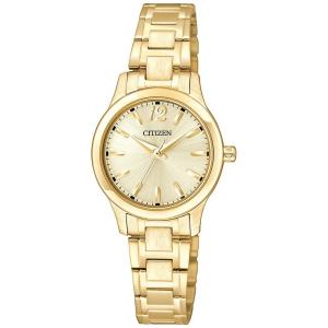 Đồng hồ Citizen EL3032-53P women's small round face all gold