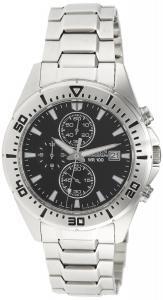 Đồng hồ Citizen Men's AN3460-56E Silver Stainless-Steel Quartz Watch with Black Dial