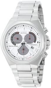 Đồng hồ Citizen Men's BL5410-59A Eco-Drive Perpetual Calendar Stainless Steel White Dial Watch