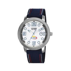 Đồng hồ Citizen Unisex BM7211-00A Eco-Drive US Open Blue Nylon Strap and Date Watch
