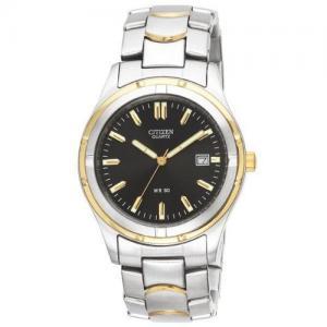 Đồng hồ Citizen Quartz Date Black Analog Dial Men's Watch - BK2284-54H