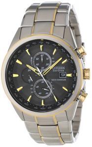Đồng hồ Citizen Men's AT8014-57E Eco-Drive World Chronograph A-T Watch