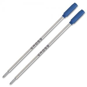 Ruột bút Cross Ballpoint Pen Refill, Medium Blue, 2 per Card (8511-2)