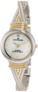 Đồng hồ Anne Klein Women's 109069MPTT Diamond Accented Round Two-Tone