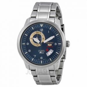 Đồng hồ Seiko 5 Blue Dial Stainless Steel Mens Watch SSA203K1