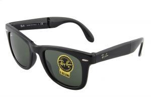Ray-Ban Men's Folding Wayfarer Square Sunglasses