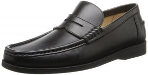 a.testoni Men's Traditional Penny Loafer