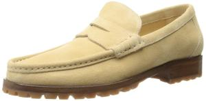 a.testoni Men's Lugged Sole Slip-On Loafer