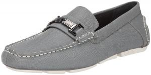 Calvin Klein Men's Magnus Weave Emboss Slip-On Loafer