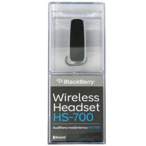BlackBerry HS700 Wireless Bluetooth Headset - Retail Packaging - Black