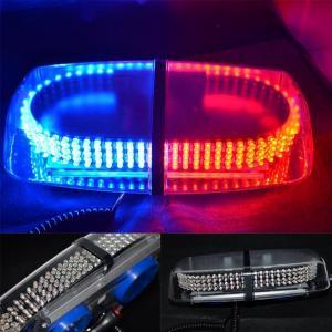 Red Blue Vehicle Car Truck Emergency Hazard Warning 240 LED Mini Bar Strobe Flash Light