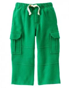 Quần Fleece-Lined Knit Cargo Pants