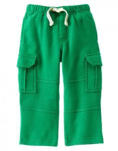 Quần Fleece-Lined Knit Cargo Pants
