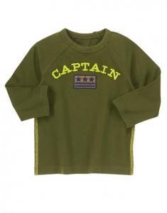 Áo trẻ em Captain Patch Tee