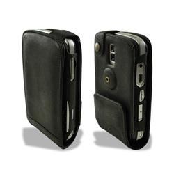 Beyza Black Vintage Leather MultiFlip Case for BlackBerry Bold 9000