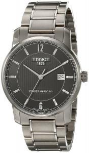 Tissot Men's T0874074405700 T-Classic Analog Display Swiss Automatic Silver Watch