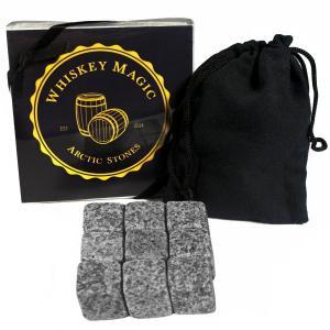 Whiskey Magic - Arctic Stones - 9 Piece Deluxe Gift Set