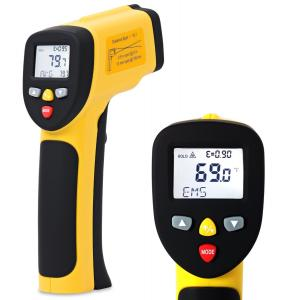 EnnoLogic Temperature Gun Dual Laser Non-Contact Infrared Thermometer -58°F to 1202°F - Accurate Digital Surface IR Thermometer