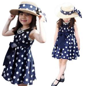 2014 Susenstore Clothing Polka Dot Girl Chiffon Sundress Dress for Kids