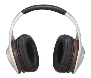 Denon AH-D7100 Music ManiacTM Over-Ear Headphones, Silver