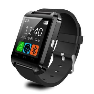 CIYOYO Bluetooth Smartwatch with touch screen for iPhone/iOS, Android - BLACK