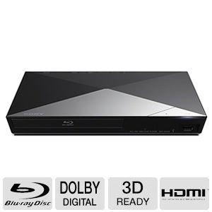 Sony 3D Blu-ray Disc Player With Full HD 1080p Resolution