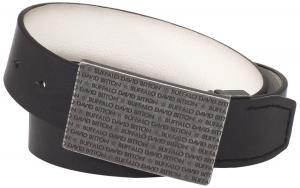 Buffalo by David Bitton Men's Engraved Buckle Belt