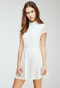 Váy Lace Fit & Flare Dress