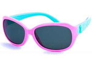 Kính trẻ em RIVBOS RBK006 Rubber Flexible Kids Polarized Sunglasses Wayfarer Style Age 3-10