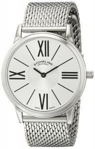 "Stuhrling Original Men's 533M.33112 ""Ascot Solei Elite"" Stainless Steel Watch with Mesh Bracelet"