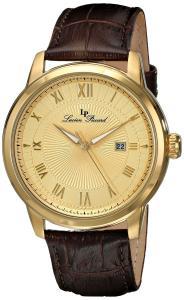 Đồng hồ nam Lucien Piccard Men's LP-12758-YG-010 Solstice Analog Display Japanese Quartz Brown Watch