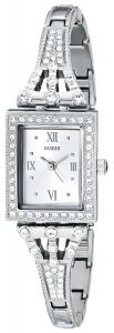 GUESS Women's U0430L1  Silver-Tone Jewelry-Inspired Watch