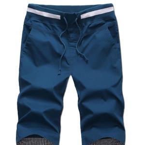 Panycase Men's Elastic waist shorts