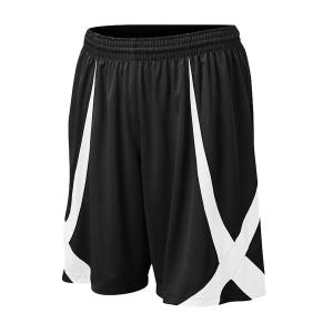 TOPTIE Men Basketball Shorts, Viscose Knit, Adult Size