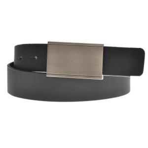 "Sharp: Men's Leather 1.25"" Flat Buckle Ratchet Belt by Gary Majdell Sport"
