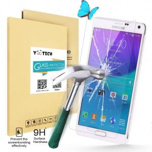 Yootech® SAMSUNG GALAXY NOTE 4 Tempered Glass Screen Protector...
