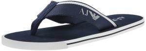 Armani Jeans Men's Leather Sandal Flip Flop