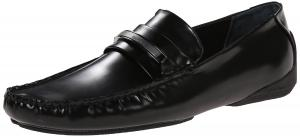 Calvin Klein Men's Cliff Box Leather Slip-On Loafer
