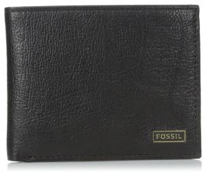 Fossil Men's Omega Bifold Wallet with ID Window