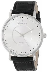 Johan Eric Men's JE1800-04-001 Esbjerg Analog Display Quartz Black Watch