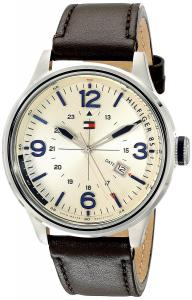 Tommy Hilfiger Men's 1791102 Casual Sport Analog Display Quartz Brown Watch