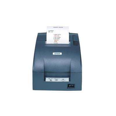 TM-U220B, Impact, Two-color printing, 6 lps, Ethernet, Auto-cutter, Auto-Status, PS-180 Power supply, Dark Gray