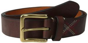 Tommy Hilfiger Men's Jean Belt with Stitch Detail On Tab
