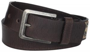 Calvin Klein Men's 38mm Flat Strap with Emboss Logo and Buckle